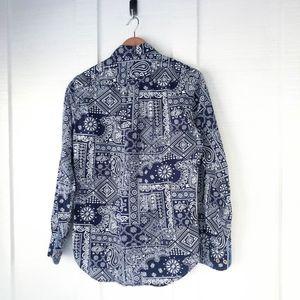 reyn spooner Shirts - REYN SPOONER Hawaii Aztec Hawaiian Button Down S